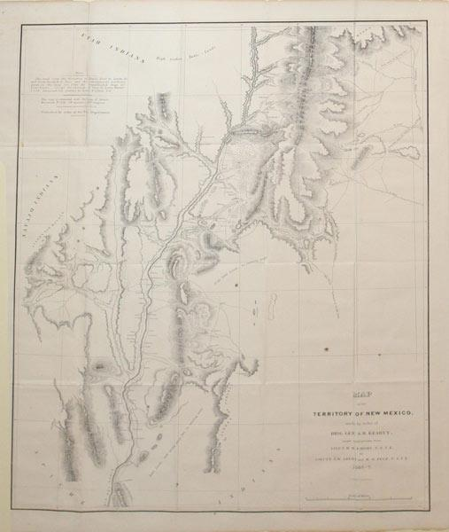 Map of the Territory of New Mexico: G. B. Graham