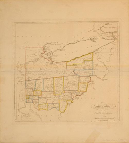The State of Ohio with part of Upper Canada: Mathew Carey