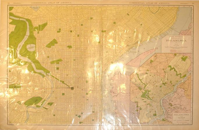 Rand McNally Standard Map of Philadelphia: Rand McNally & Co.