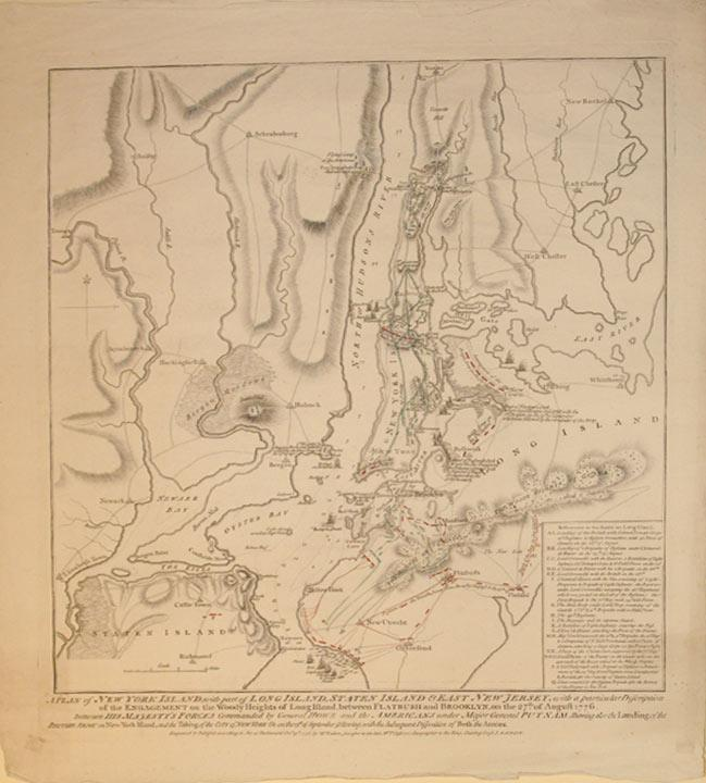A Plan of New York Island, with part of Long Island, Staten Island & East New Jersey, with a ...