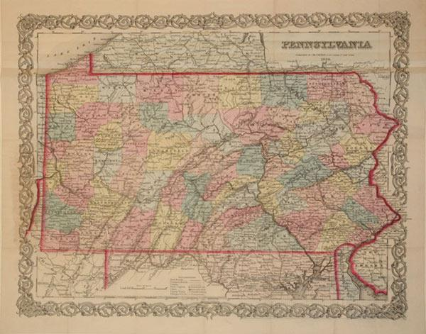 Pennsylvania: J. H. Colton