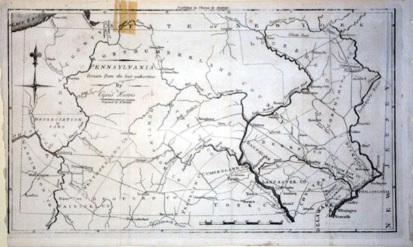 Pennsylvania Drawn from the best authorities By Cyrus Harris: A. Doolittle