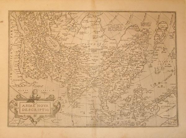 Asiae Nova Descriptio (Asia): Abraham Ortelius
