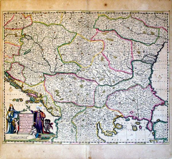 Nova totius Hungariae, Transilvaniae, Serviae, Romaniae, Bulgariae, Walachlae, Moldaviae. (Hungary/...