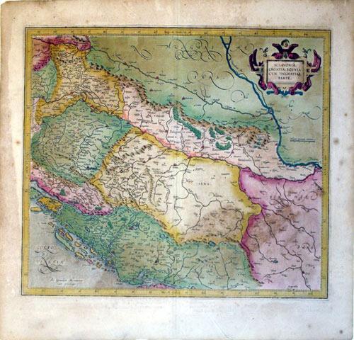 Sclavonia, Croatia, Bosnia cum Dalmitae parte (Slavonia/Croatia/Bosnia/Dalmatia&#x2F...