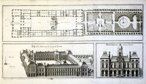 Prosp. de la Maison de Ville de Lyon/Portal de la Maison de Ville de Lyon (France): Casper ...