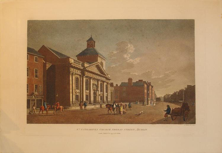 St. Catharine's Church, Thomas Street, Dublin (Ireland): James Malton