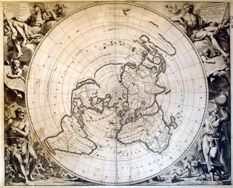 Planisphere Terrestre, Suivant les nouvelles Observations des Astronomes./Planispherium ...