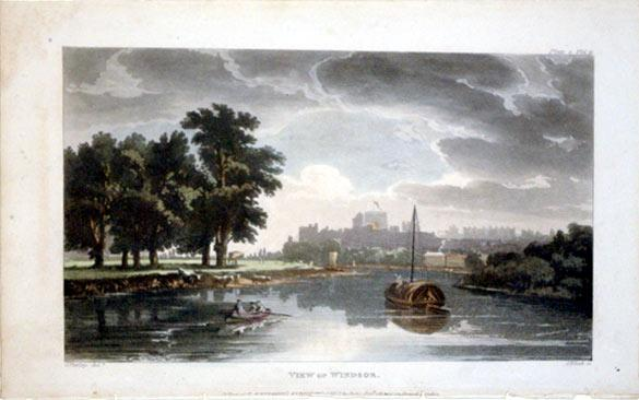 View of Windsor (England): J. Bluck