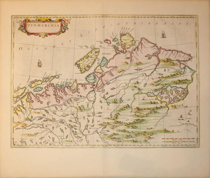 Finmarchia (Norway): J. Blaeu