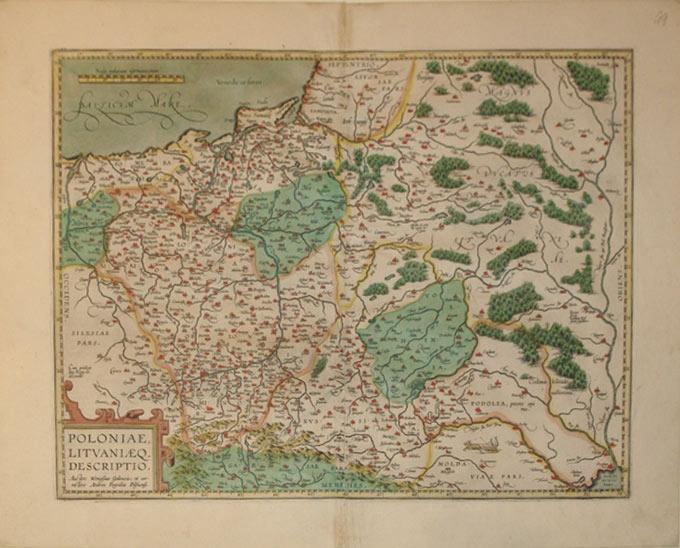 Poloniae, Litvaniaeq. Descriptio. Auctore Wenceslao Godreccio; et correctore Andrea Pograbio ...