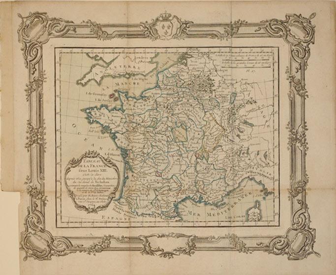 Tableau de la France sous Louis XIII, c'est-a-dire depuis 1610, jusqu'a la fin du Ministere...