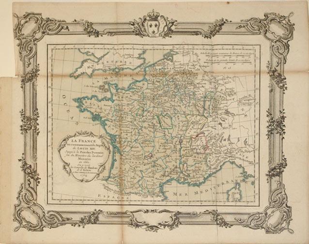 La France au commencement du Regne de Louis XIV, Jusqu'a la Paix des Pyrennes fin du ...