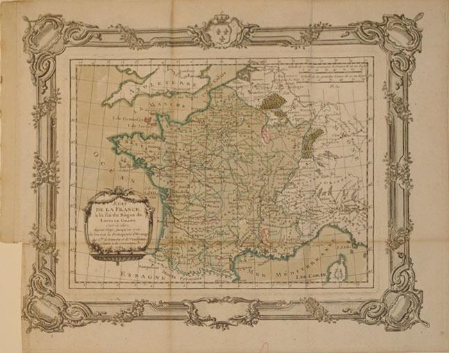 Etat de la France a la fin du Regne de Louis le Grand, c'est-a-dire, depuis 1697 jusqu'en ...
