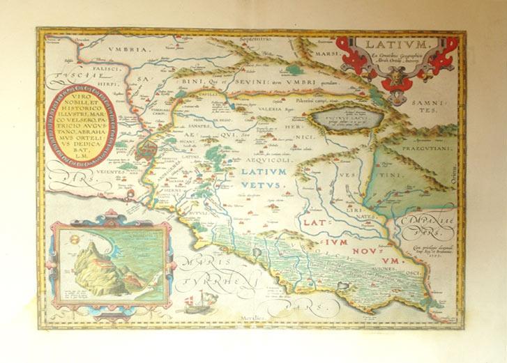 Latium (Italy/Rome): Abraham Ortelius