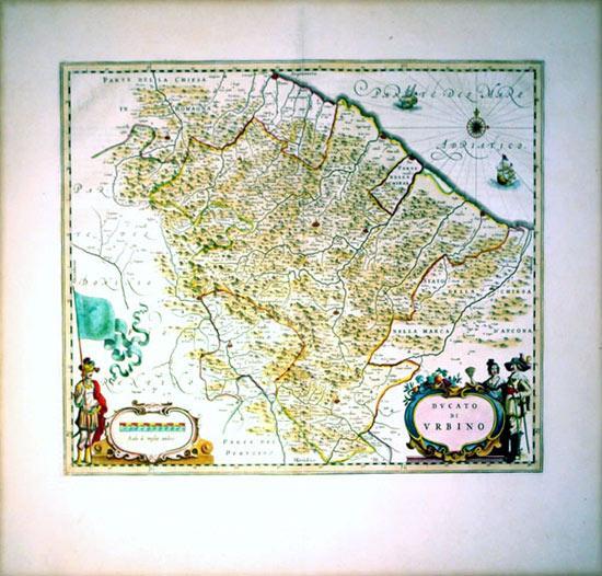 Ducato de Urbino (Italy/Urbino): J. Blaeu
