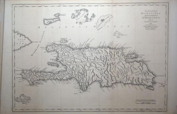 The Island of Hispaniola called by the French St. Domingo. Subject to France & Spain. (West ...