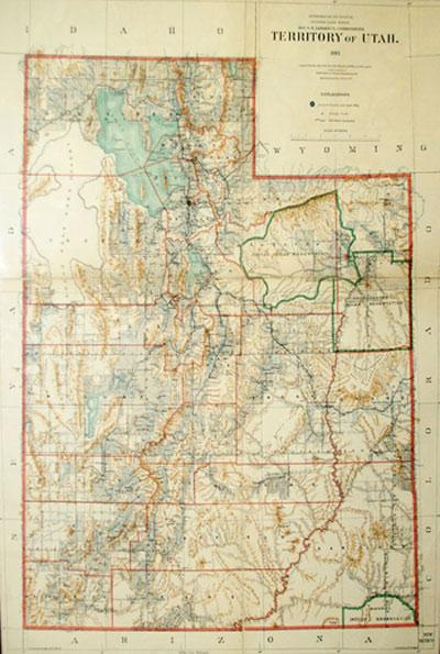 Territory of Utah: R. H. Morton
