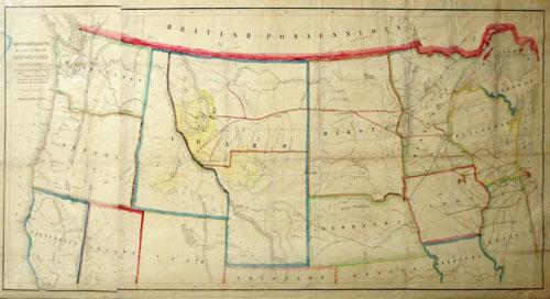 Minnesota Route the Shortest and Best to the Idaho Gold Mines: C.A.F. Morris