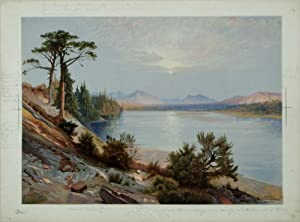Head of Yellowstone River: Thomas Moran (1837-1926)