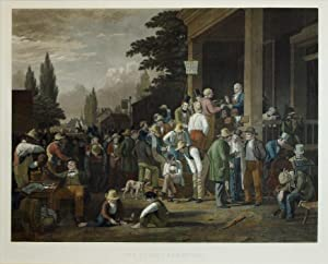 The County Election: George Caleb Bingham (1811-1879)