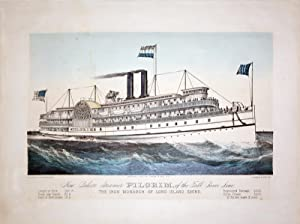 The New Palace Steamer Pilgrim, of the Fall River Line: The Iron Monarch of Long Island Sound: ...