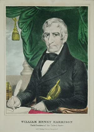 William Henry Harrison, Ninth President of the United States: Nathaniel Currier (1813-1888)