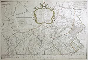 To the Honorable Thomas Penn and Richard.this map of the Province of Pennsylvania.: William Scull (...