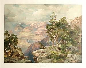 The Grand Canyon of Arizona, from Hermit Rim Road: Thomas Moran (1837-1926)