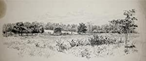 The Logan Crossroads Battlefield, Logan¿s Crossroad, KY. After a photograph 1887.: Edwin J. ...
