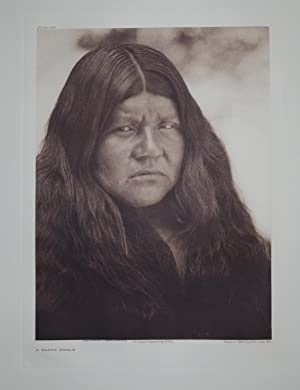 A Wappo Woman, Plate 491 from The North American Indian. Portfolio XIV: Edward S. Curtis (1868-1952...