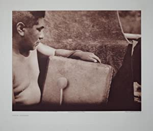 Yurok Drummer, Plate 457 from The North American Indian. Portfolio XIII: Edward S. Curtis (1868-...
