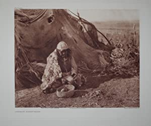 Achomawi Basket-Maker, Plate 464 from The North American Indian. Portfolio XIII: Edward S. Curtis (...
