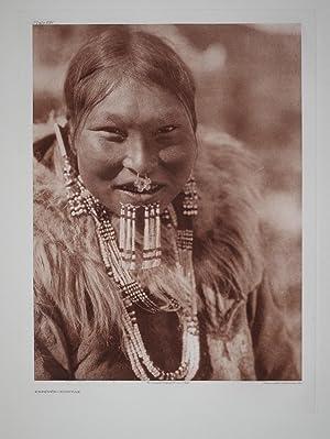 Kenowun - Nunivak, Plate 691 from The North American Indian. Portfolio XX: Edward S. Curtis (1868-...