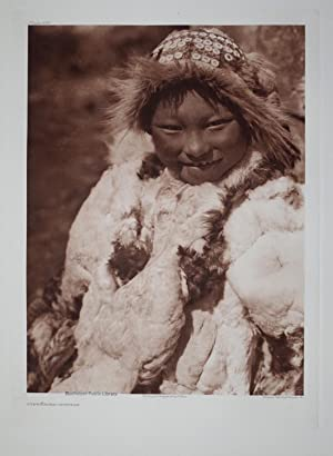 Uyowutcha - Nunivak, Plate 696 from The North American Indian. Portfolio XX: Edward S. Curtis (1868...