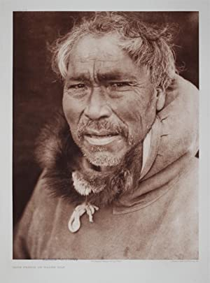 Cape Prince of Wales Man, Pl. 708 from The North American Indian. Portfolio XX: Edward S. Curtis (...