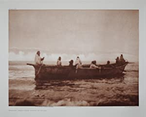 Whaling Crew - Prince of Wales, Pl. 709 from The North American Indian. Portfolio XX: Edward S. ...
