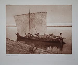 Arriving Home - Noatak, Pl. 715 from The North American Indian. Portfolio XX: Edward S. Curtis (...