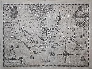 Americae pars, Nunc Virginia dicta.: Theodor de Bry