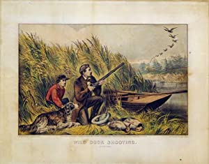 Wild Duck Shooting: Currier & Ives