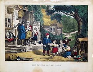 The Sale of the Pet Lamb: Currier & Ives