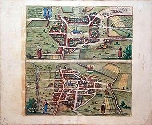 Heide; Meldorpie (Meldorf): Georg Braun & Frans Hogenberg