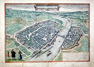 Civitas Francofordiana Ad Moenum (Frankfurt Am Maim): Georg Braun & Frans Hogenberg