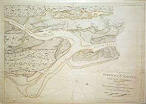 A Plan of the Harbour of St. Augustin in the Province of Georgia Compiled & Published from ...