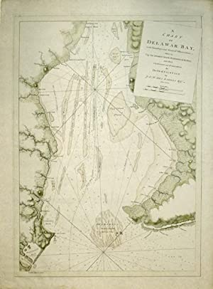 A Chart of Delawar Bay, with Soundings and Nautical Observations taken by Capt. Sir Andrew Snape ...