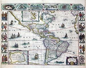 America noviter delineata: Jodocus Hondius