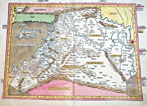 Quarta Asie Tabula (Middle East/Fertile Crescent): Claudius Ptolemy