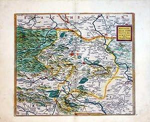 Mansfeldiae Comitatus Descriptio Auctore Tilemanno Stella Sig.(Mansfeld): Abraham Ortelius