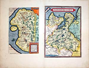 Thietmarsiae, Holsaticae Regionis Partis Typus Auctore Petro Boeckel/Oldenburg Comit. (Lower ...