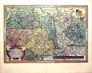 Saxoniae Misniae, Thuringiae, Nova Exactissimaque Descriptio. (Sachsen): Abraham Ortelius